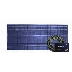 110 Watt Solar Kit With Digital Regulator