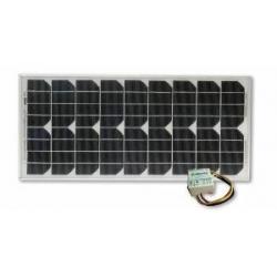 20 Watt Solar Panel Kit With 4.5 Amp Regulator