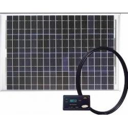 50 WATT SOLAR KIT WITH DIGITAL REGULATOR