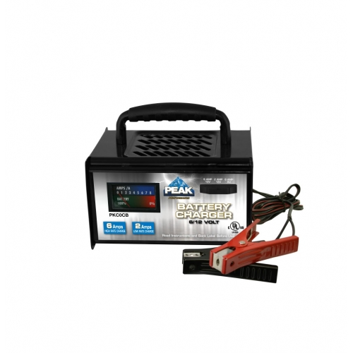2 6 Amps 6 And 12 Volt Battery Charger
