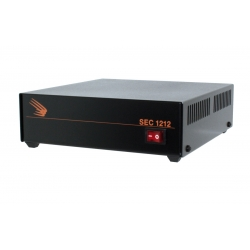 SEC-1212 Desktop Switching Power Supply Input: 120 VAC, Output: 13.8 VDC, 10 Amps UL Approved