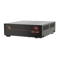 SEC-1235 Desktop Switching Power Supply Input: 120 VAC, Output: 13.8 VDC, 30 Amps UL Approved