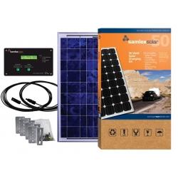 50 Watt Solar Charging Kit